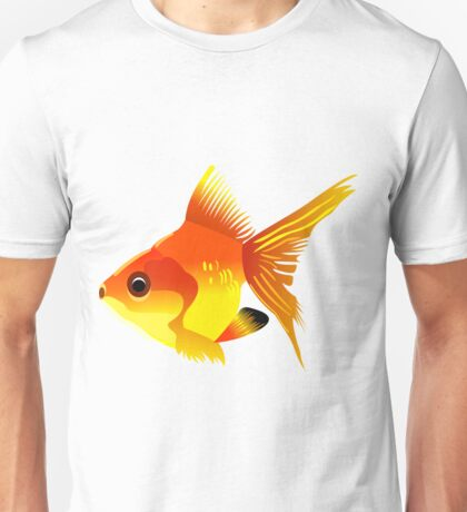 Free fish icons print art Unisex T-Shirt