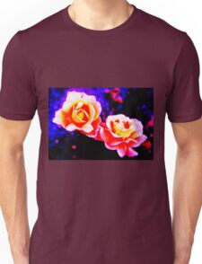 Psychedelic Roses Unisex T-Shirt