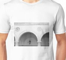 Beautiful round arches with columns in San Marino Unisex T-Shirt