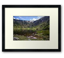 Small Pond - Travel Photography Framed Print