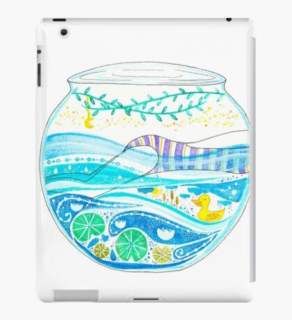 Swimming in old waters iPad Case/Skin