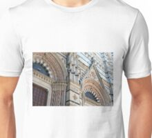 Architectural details of the cathedral from Siena, Italy Unisex T-Shirt