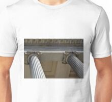 Ionian columns from classical building Unisex T-Shirt