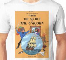 Tintin - The Secret of the Unicorn Cover Unisex T-Shirt