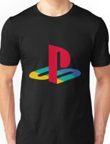 Playstation One Emblem Unisex T-Shirt