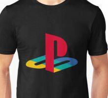 Playstation One Emblem Unisex T-Shirt