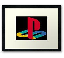 Playstation One Emblem Framed Print