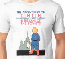 Tintin - In the Land of the Soviets Unisex T-Shirt