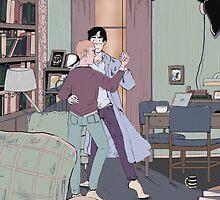 Dance Lessons in 221B by lkaet