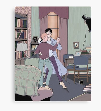 Dance Lessons in 221B Canvas Print