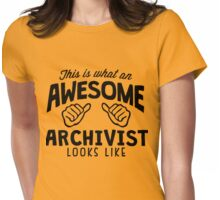Archivist Womens Fitted T-Shirt