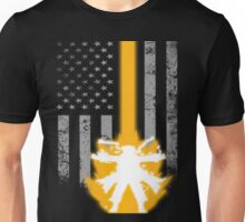 LOVER WITH AMERICAN FLAG Unisex T-Shirt