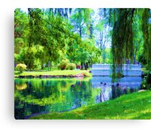 A-Carroll Park-ing Canvas Print