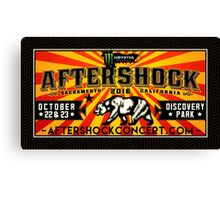 AFTERSHOCK 2016 - CALIFORNIA - DISCOVER PARK Canvas Print