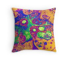 Psychedelic Relic Throw Pillow