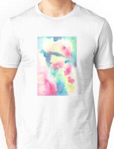 watercolors crazy fool Unisex T-Shirt