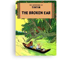Tintin - The Broken Ear Canvas Print