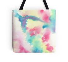 watercolors crazy fool Tote Bag