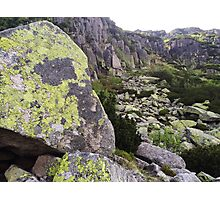 Stone Wall - Travel Photography Photographic Print