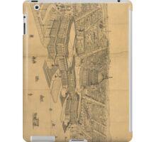 Vintage Pictorial Map of Washington D.C. (1872) iPad Case/Skin