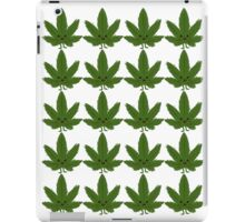 Happy Weed Pattern iPad Case/Skin