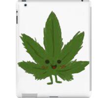 Happy Weed Cartoon iPad Case/Skin