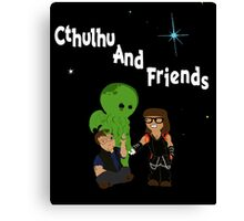 Cthulhu AND friends! Canvas Print