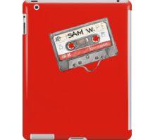 Sam Winchester Mixtape iPad Case/Skin