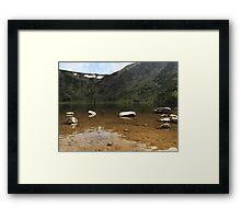 Ginger Lake - Travel Photography Framed Print
