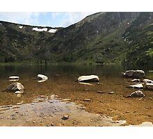 Ginger Lake - Travel Photography Photographic Print