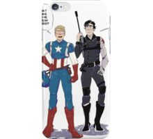 Sherlock and John go to Comic Con iPhone Case/Skin