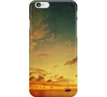 A glorious Carriacou sunset iPhone Case/Skin