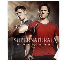 Sam And Dean Supernatural 02 Poster