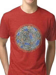 Mandala: Precious Master Of Happiness Tri-blend T-Shirt