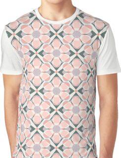 Pink mosaic seamless pattern Graphic T-Shirt