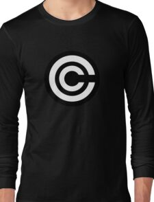 DBZ - Capsule Corp Logo Shirt Long Sleeve T-Shirt