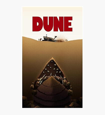 Dune Jaws Photographic Print