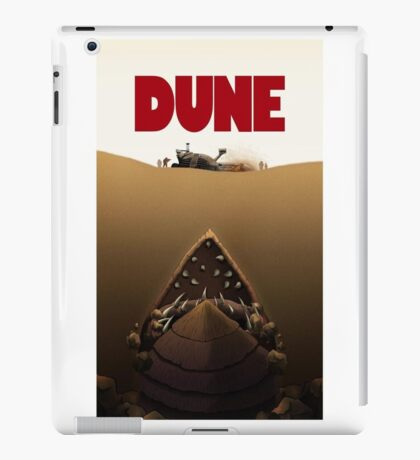 Dune Jaws iPad Case/Skin