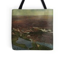 Vintage Pictorial Map of Washington D.C. (1916) Tote Bag