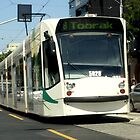Melbourne Tram by Chris Chalk