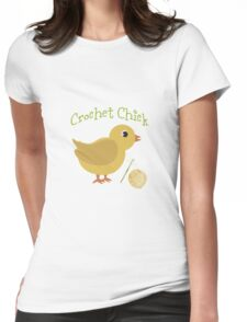 Crochet chick Womens Fitted T-Shirt