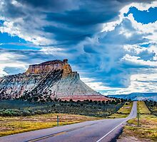 Thunder over Capitol Reef by vivsworld