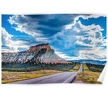 Thunder over Capitol Reef Poster