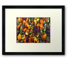 Knitted Framed Print