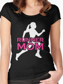 Mom - Runner Mom Women Gift For Mum T-shirts Women's Fitted Scoop T-Shirt