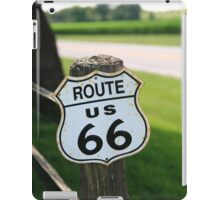 Route 66 Shield iPad Case/Skin