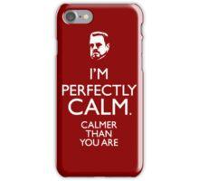Walter The big Lebowski Calm iPhone Case/Skin