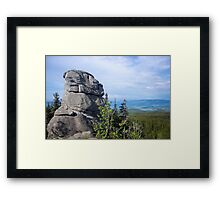 Rocky Sphinx - Nature Photography Framed Print
