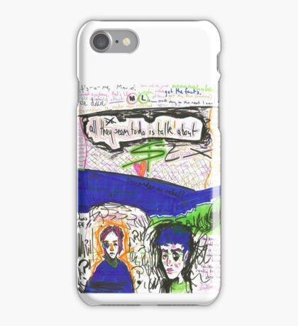all we seem to do iPhone Case/Skin