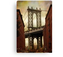 The Manhattan Bridge Canvas Print